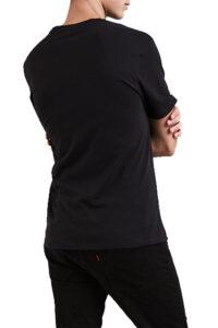 Ανδρική Μπλούζα LEVI'S 17783-0137 Μαύρο