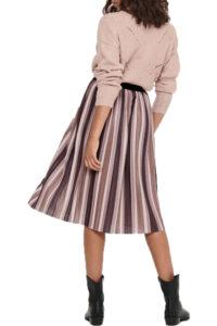 Γυναικεία Φούστα ONLY 15210640 Μωβ