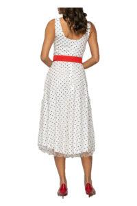 Γυναικείο Φόρεμα BELLINO 21.11.2201 Άσπρο