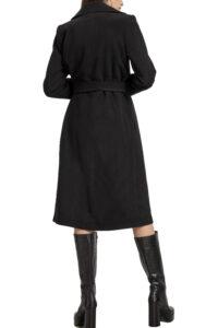 Γυναικείο Παλτό PASSAGER 90068 Μαύρο