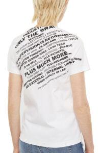Γυναικεία Μπλούζα DIESEL 00SELF-0QANW-100 T-SILY-S1 Άσπρη