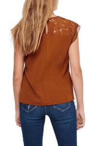Γυναικεία Μπλούζα ONLY 15213392 Πορτοκαλί