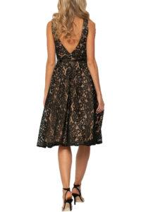 Γυναικείο Φόρεμα XTEEN 21.11.2140 Μαύρο