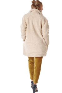 Γυναικείο Παλτό ONLY 15209080 Μπεζ