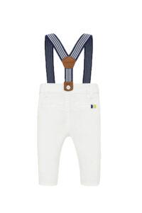 Παιδικό Παντελόνι Για Αγόρι MAYORAL 20-01542-010 Άσπρο