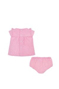 Παιδικό Σετ Πουκάμισο Για Κορίτσι MAYORAL 20-01139-010 Ροζ