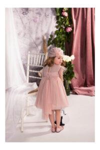Παιδικό Βαπτιστικό Φόρεμα BABYBLOOM 120.135 Ροζ
