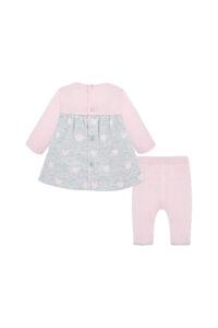 Παιδικό Σετ Φόρεμα Για Κορίτσι MAYORAL 19-02802-046 Ροζ