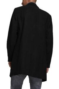 Ανδρικό Παλτό JACK&JONES 12171374 Μαύρο