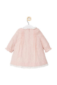 Φόρεμα Πλουμετί Νεογέννητο Κορίτσι MAYORAL 10-02849-041 Ροζ