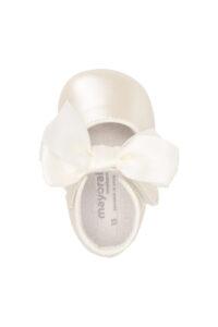 Παιδικό Υπόδημα για Νεογέννητο Κορίτσι  MAYORAL 10-09340-038 Άσπρο
