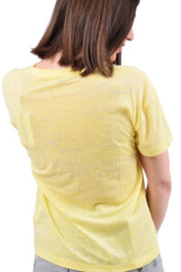 Γυναικεία μπλούζα PEPE JEANS PL504439 ΚΙΤΡΙΝΟ