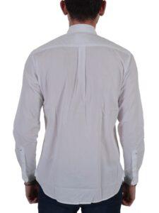 Ανδρικό Πουκάμισο U.S. POLO ASSN. 5856252112 Λευκό