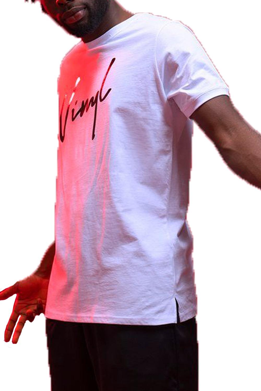 Ανδρική Μπλούζα VINYL 4051202 Άσπρο