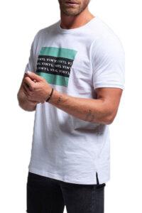 Ανδρική Μπλούζα VINYL 4122302 Άσπρο