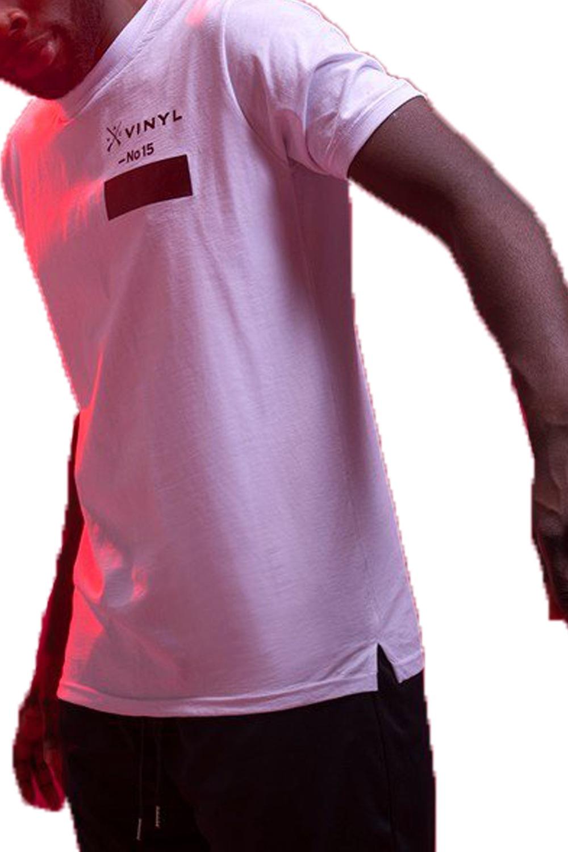 Ανδρική Μπλούζα VINYL 4415402 Άσπρο